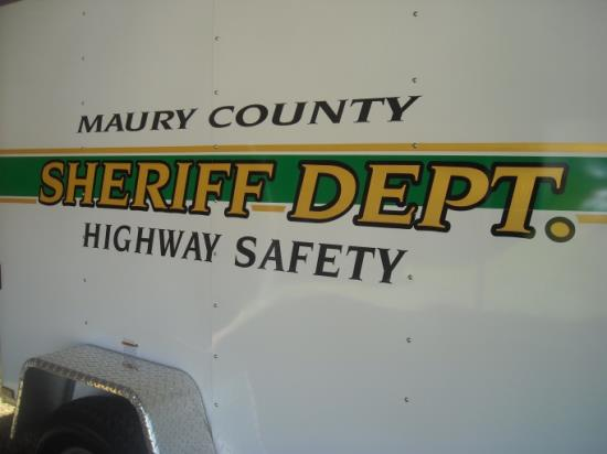 Maury County Sheriff Department Highway Safety Trailer
