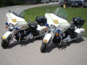 Sheriffs Department Motorcycles