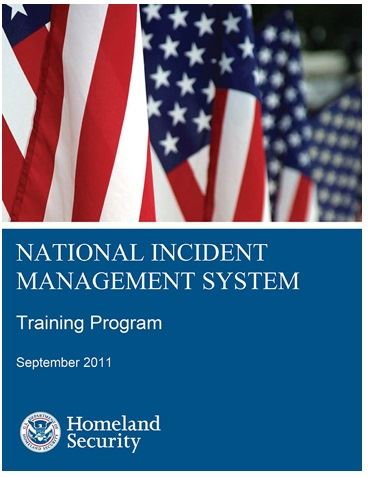 National Incident Management System training