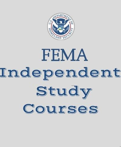 Federal Emergency Management Agency training