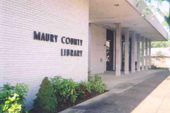 Maury County Library Building